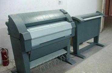 二手工程复印机高价回收